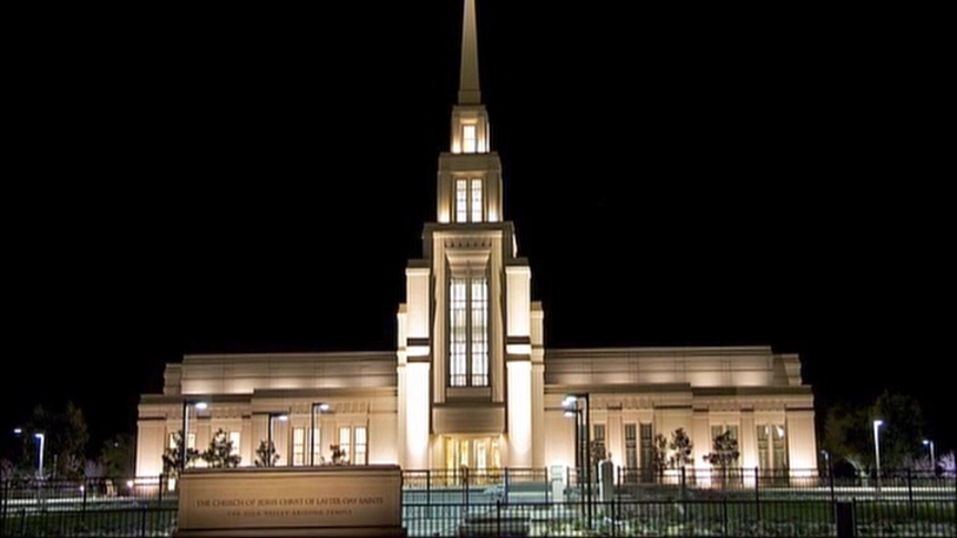 Gila Valley Arizona Temple LDS
