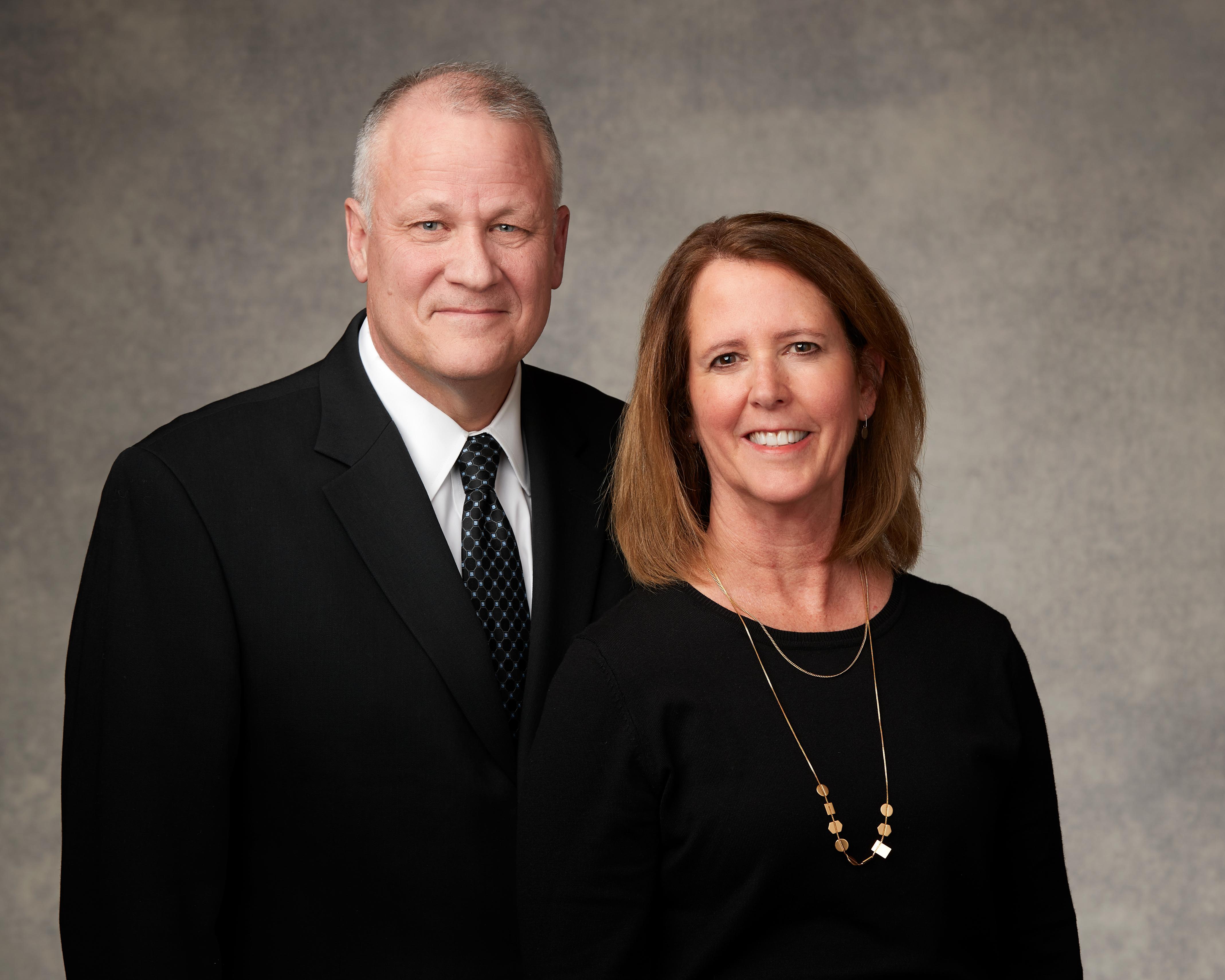 Elder David P. Homer, General Authority Seventy, and his wife, Sister Nancy D. Homer.