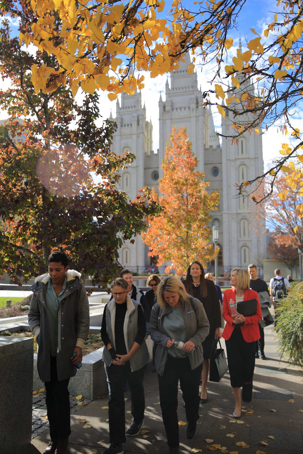 The Common Ground Executive Committee, hosted by The Church of Jesus Christ of Latter-day Saints, was given a tour of Temple Square on Friday, Nov. 2.
