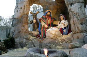 Nativity scene at temple square 11/25/00 (Submission date: 12/04/2003)