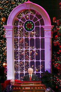 Lds Christmas Devotional.Sacred Writ Beautiful Words Of Savior S Birth Church News
