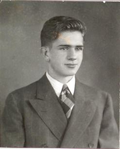 Pres. Packer at the time of his high school graduation, 1942.