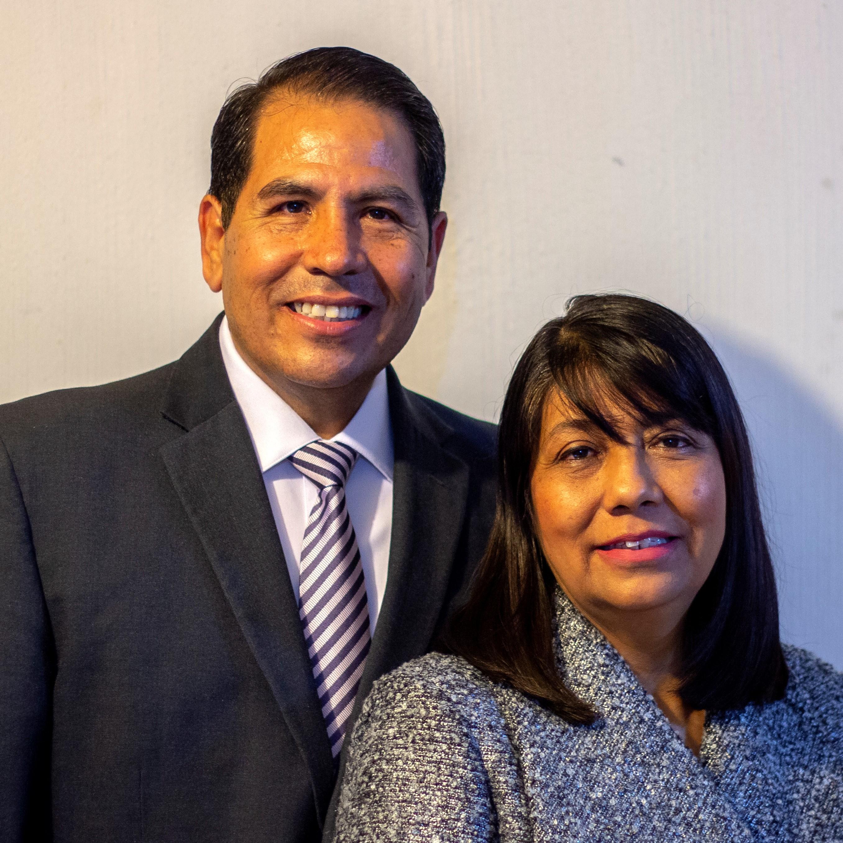 Javier and Leticia Escobarete de Romero