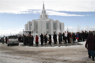 Calgary Alberta Canada Temple dedication.