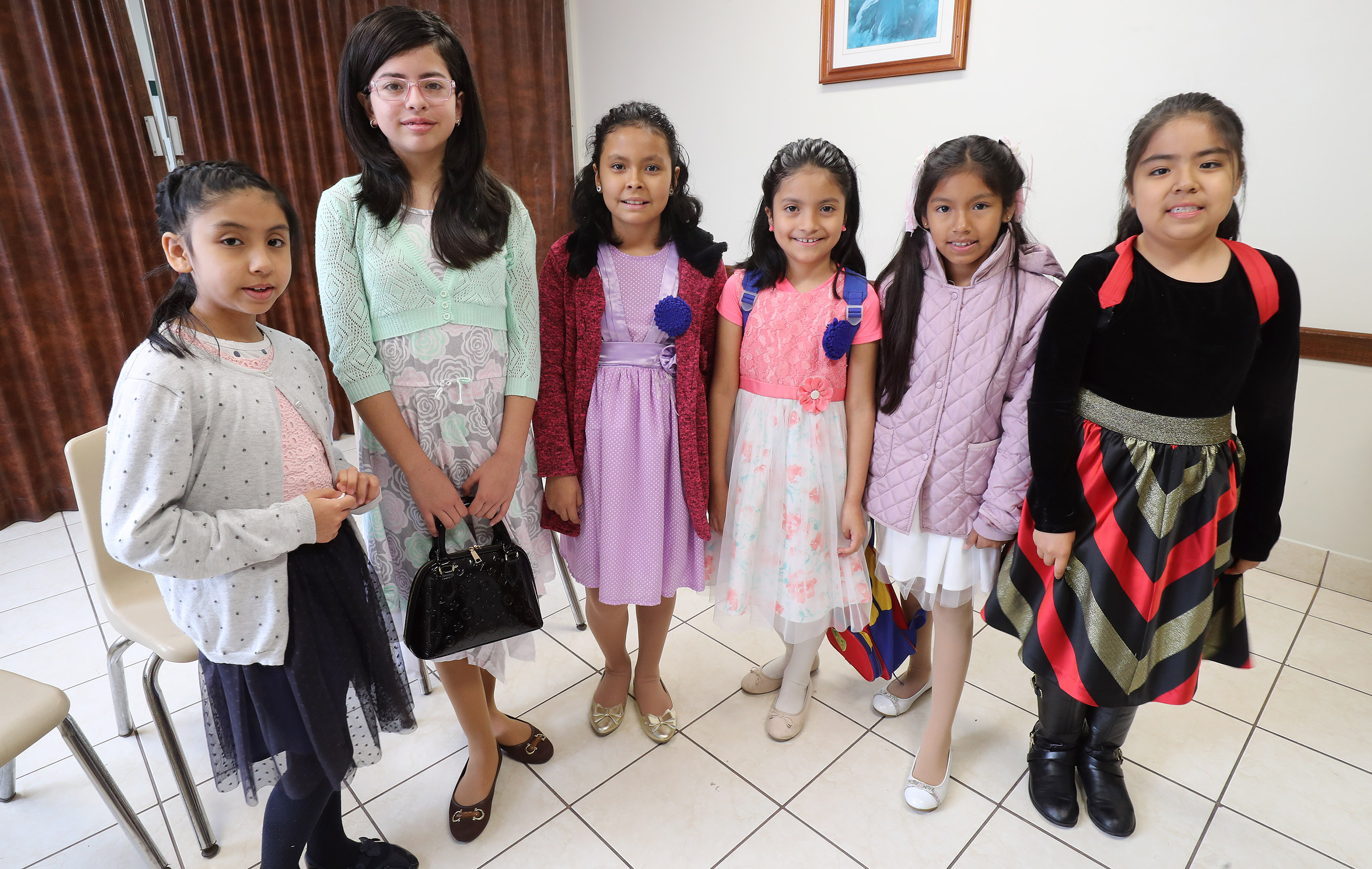 Church of Jesus Christ of Latter-day Saints primary children pose for a photo prior to class in Lima, Peru on Oct. 21, 2018. The First Presidency announced changes Dec. 14 to the timeline children and youth in The Church of Jesus Christ of Latter-day Saints will complete Primary, move from one class or quorum to the next and attend the temple for the first time. The changes, effective January 2019, also impact when young men may be ordained to priesthood offices.