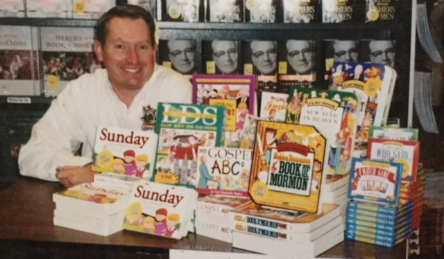 Val Chadwick Bagley with several of his books and drawings.