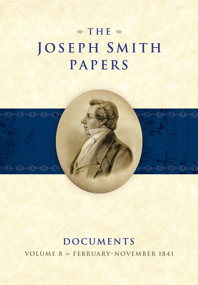 "The latest volume of the ""Joseph Smith Papers: Documents, Volume 8"" covers February to November 1841 of the Prophet Joseph Smith's life in Nauvoo, Illinois."