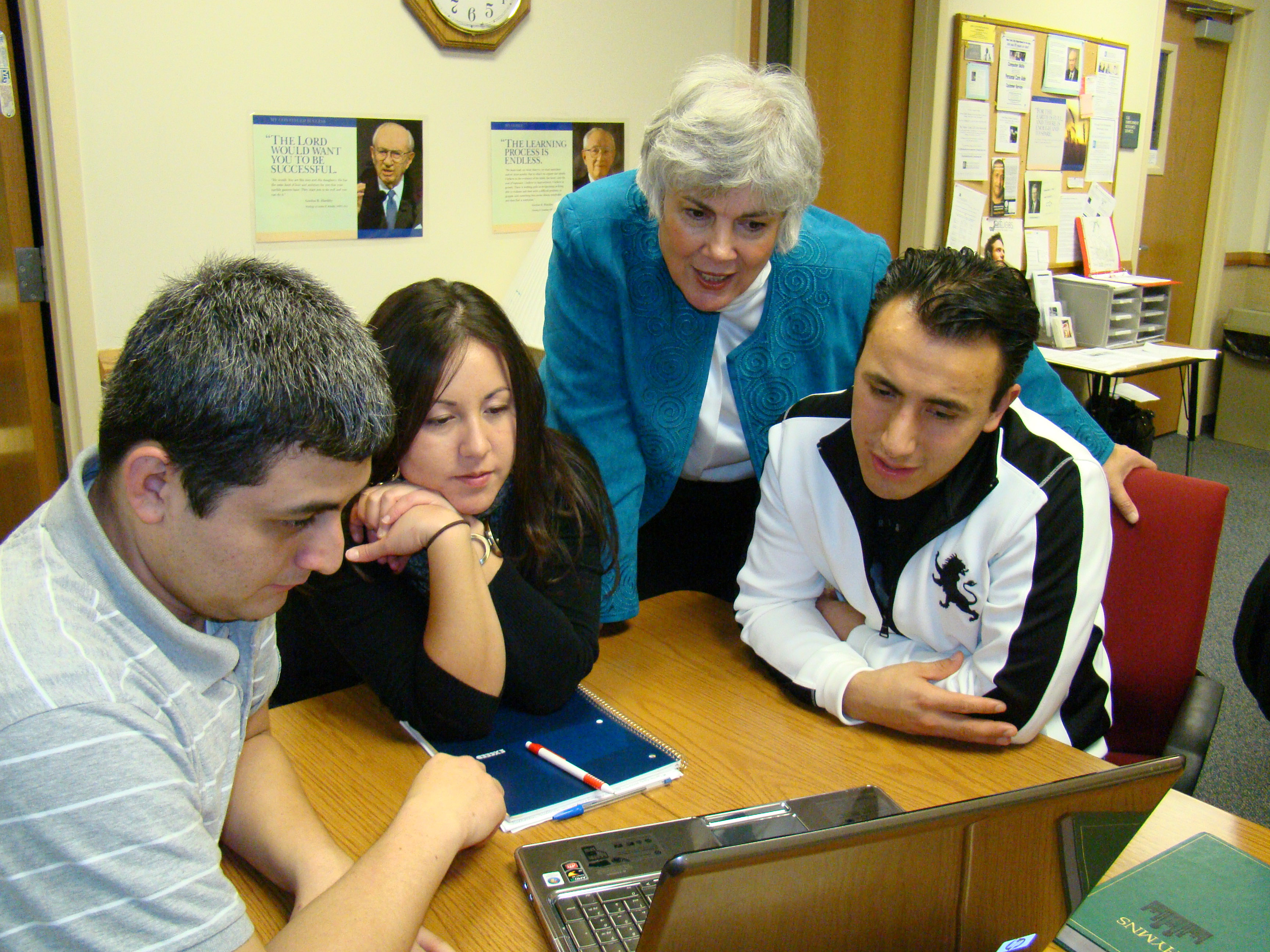 Pathway online learning program is being conducted at a New York institute building. All young returning missionaries are now preapproved for BYU-Pathway Worldwide.