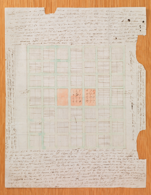 """A plat for the City of Zion in Missouri is featured in """"Joseph Smith Papers: Documents, Volume 3."""" The map is considered a sacred relic of the restoration."""