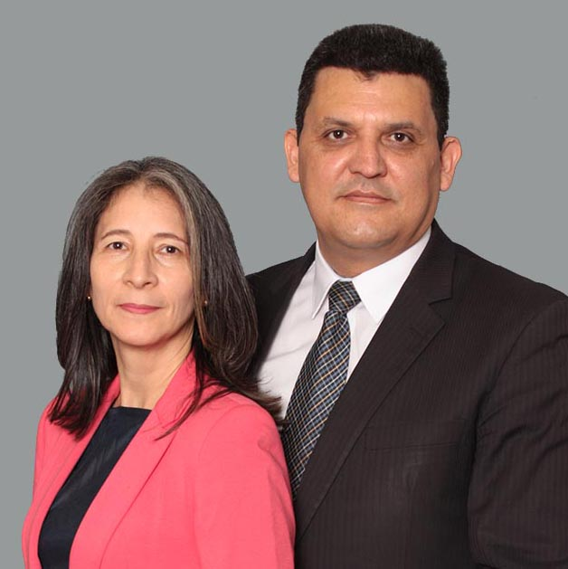 Maria Angarita de Palma and John N. Palma