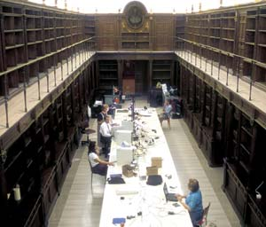 Working in the Vatican Libary, BYU scholars image texts, some dating to the 5th and 6th centuries.