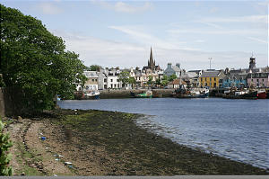 A small town on the Isle of Lewis, Scotland, is home to the Stornoway Branch, where early Vikings once found a sheltered harbor, giving the town its name, which means 'steering.'