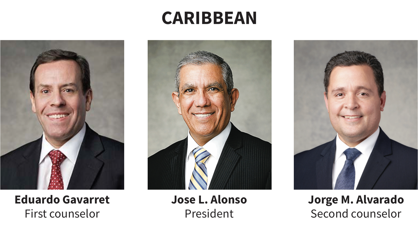 Caribbean area presidency