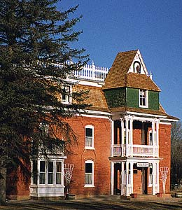 James M. Flake house stands as reminder of early settlers.