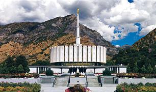 The Provo Utah Temple.