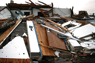 All missionaries and members are safe following devastating tornado that leveled Joplin Missouri Stake Center.