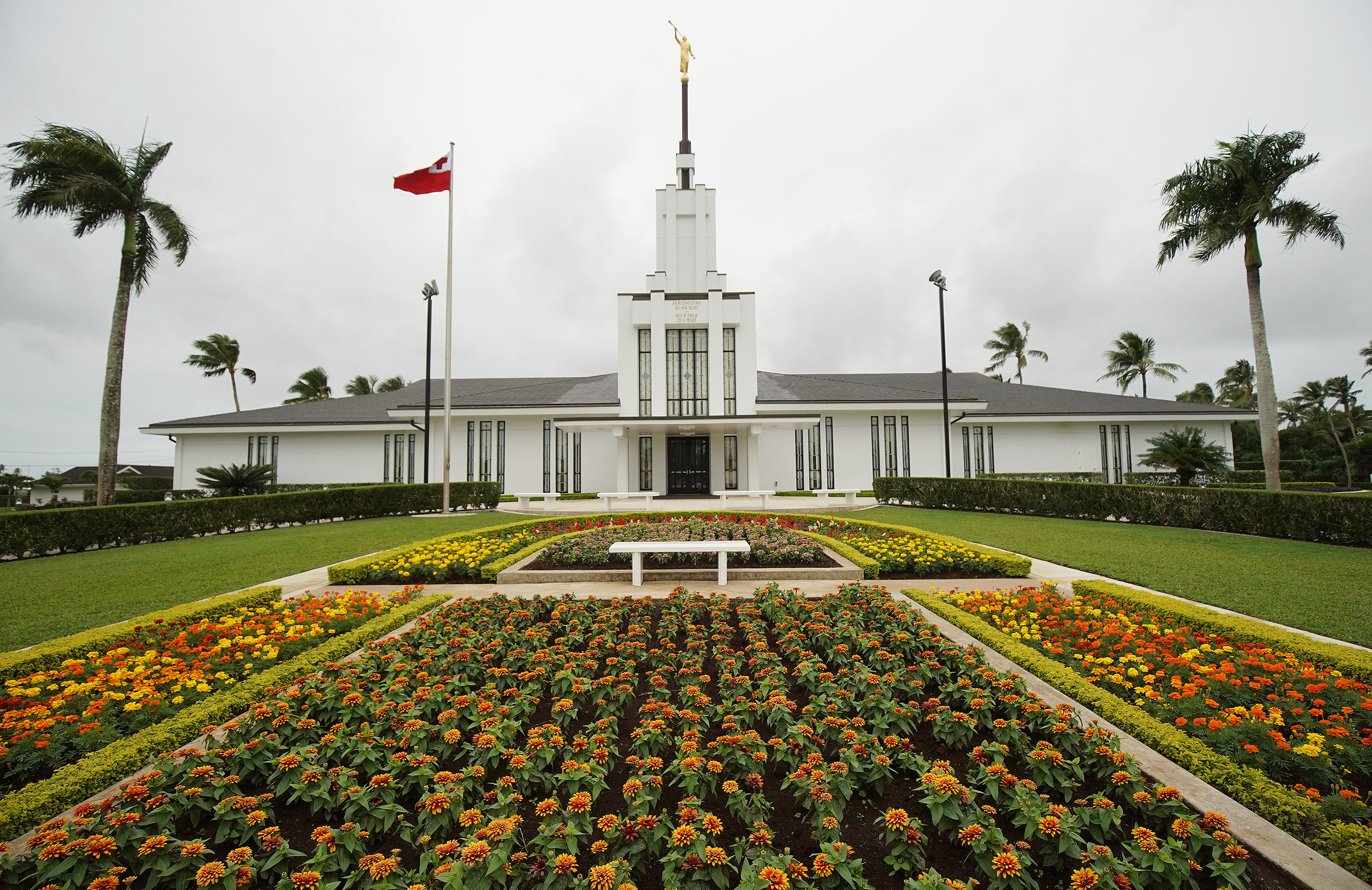 The Nuku'alofa Tonga Temple in Tonga on May 23, 2019.