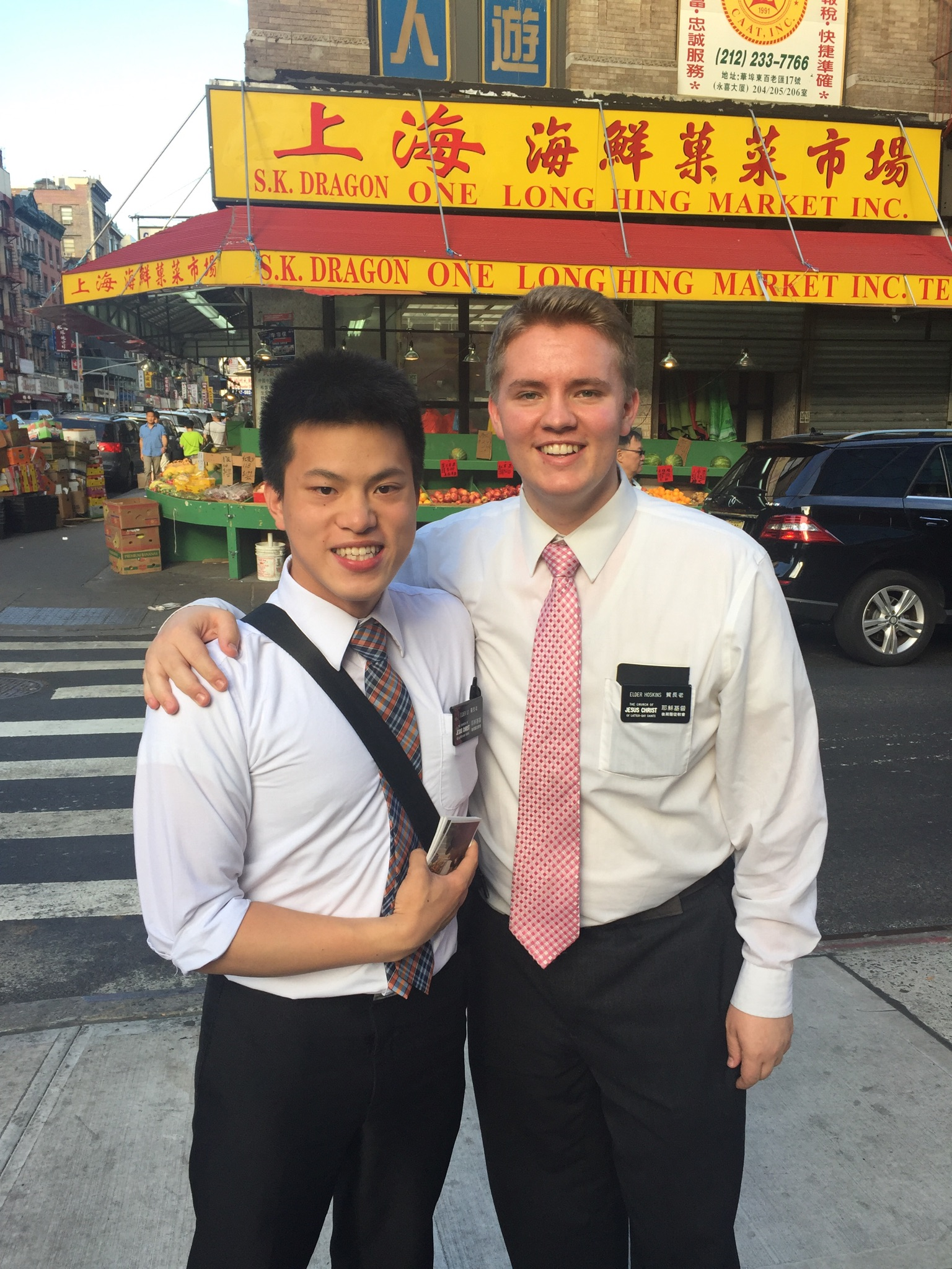 Latter-day Saint opera singer Jonah Hoskins served a Mandarin-speaking mission to New York.