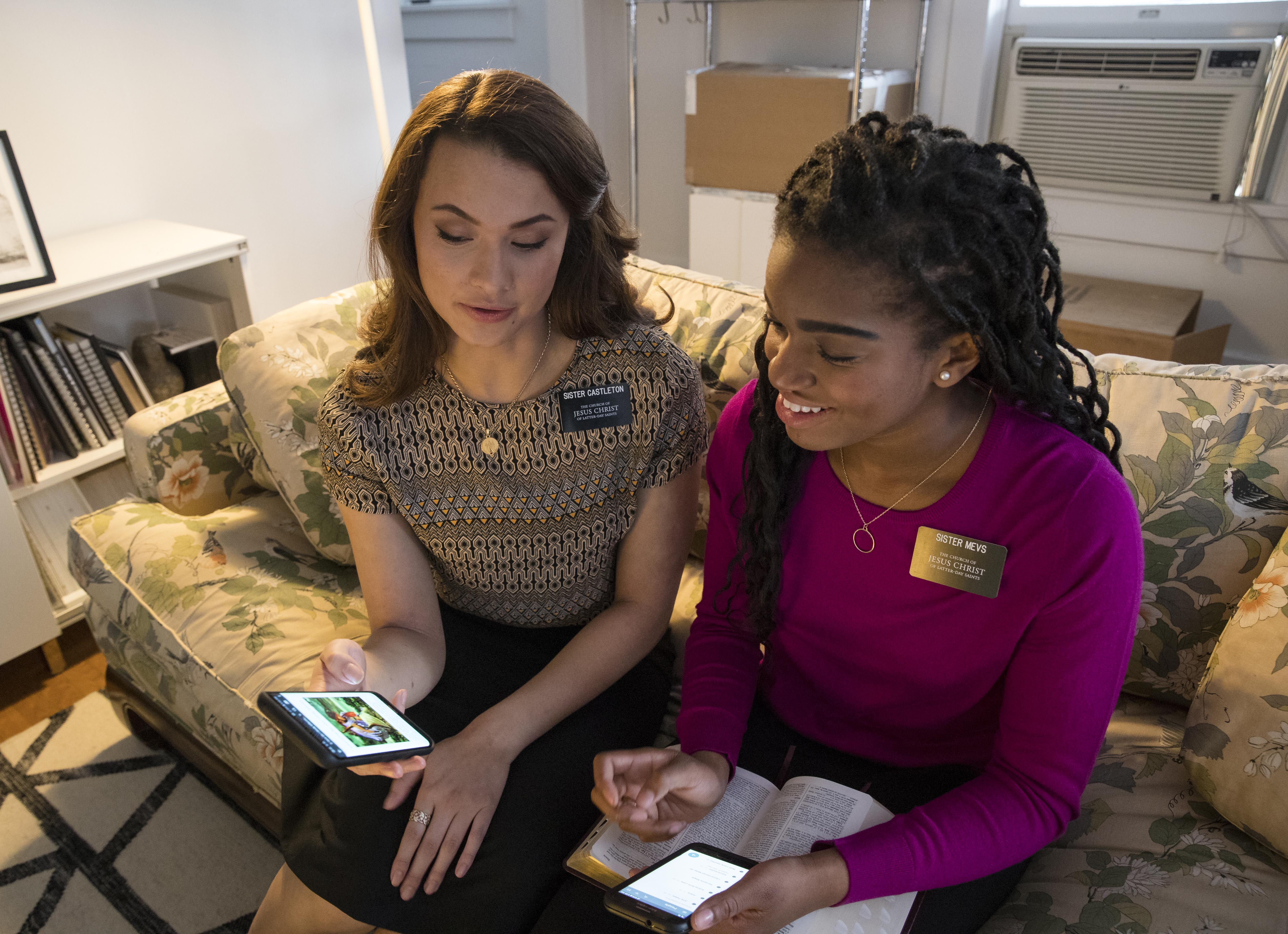 The First Presidency of the Church of Jesus Christ of Latter-day Saints announced Friday, Feb. 15, that missionaries worldwide are now authorized to communicate with their families each week on preparation day by text messages, online messaging, phone calls and video chats, in addition to letters and emails.