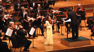 Aubree Oliverson performs with the Utah Symphony in 2009. She will play at Carnegie Hall on March 6.