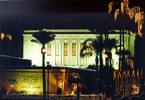 For the 22nd year, 600,000 lights illuminate the Mesa Arizona Temple.
