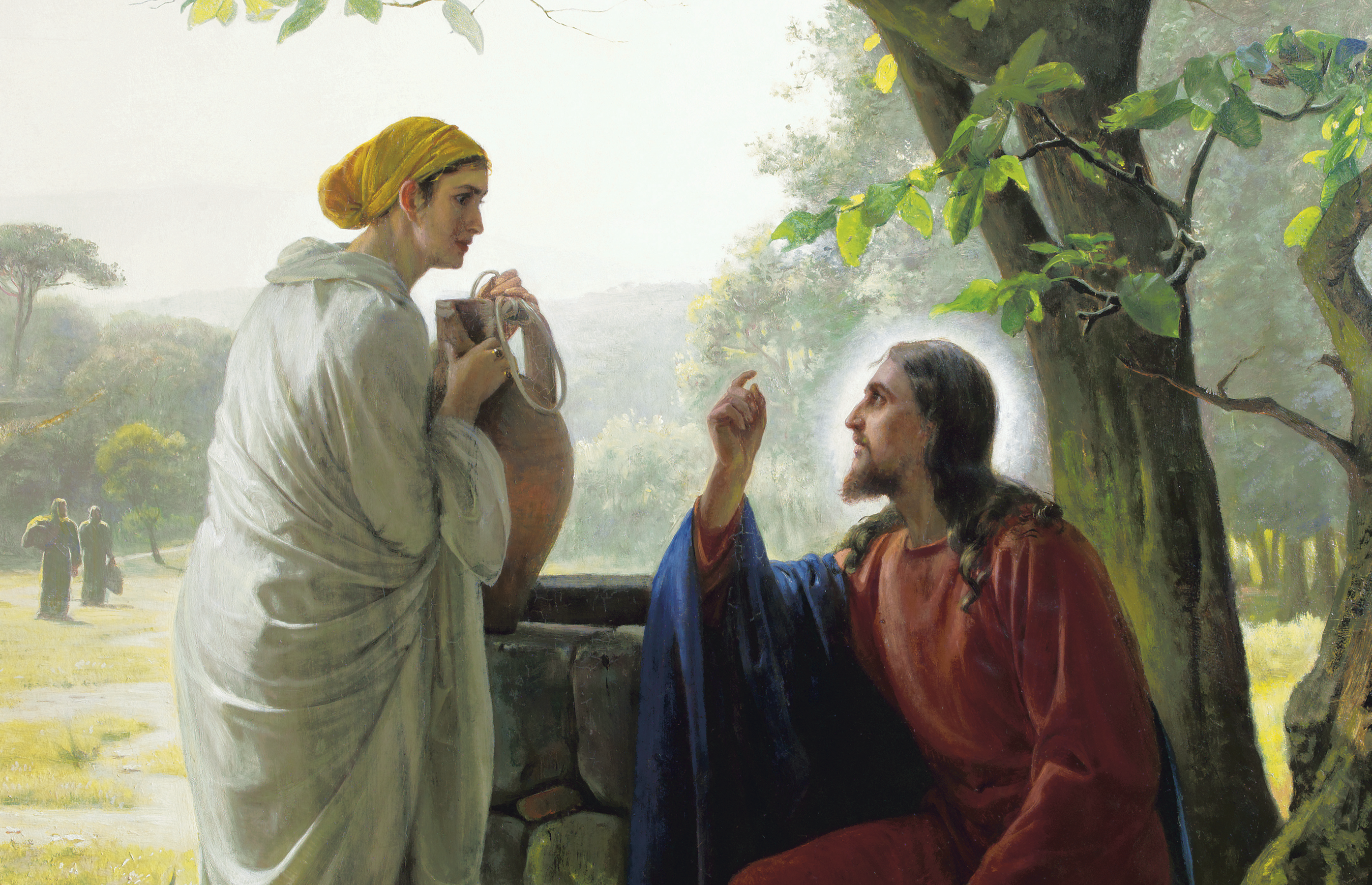 Original painting by Carl Heinrich Bloch (1834-1890) is located in the King's Oratory, The Museum of National History at Frederiksborg Castle in Denmark.