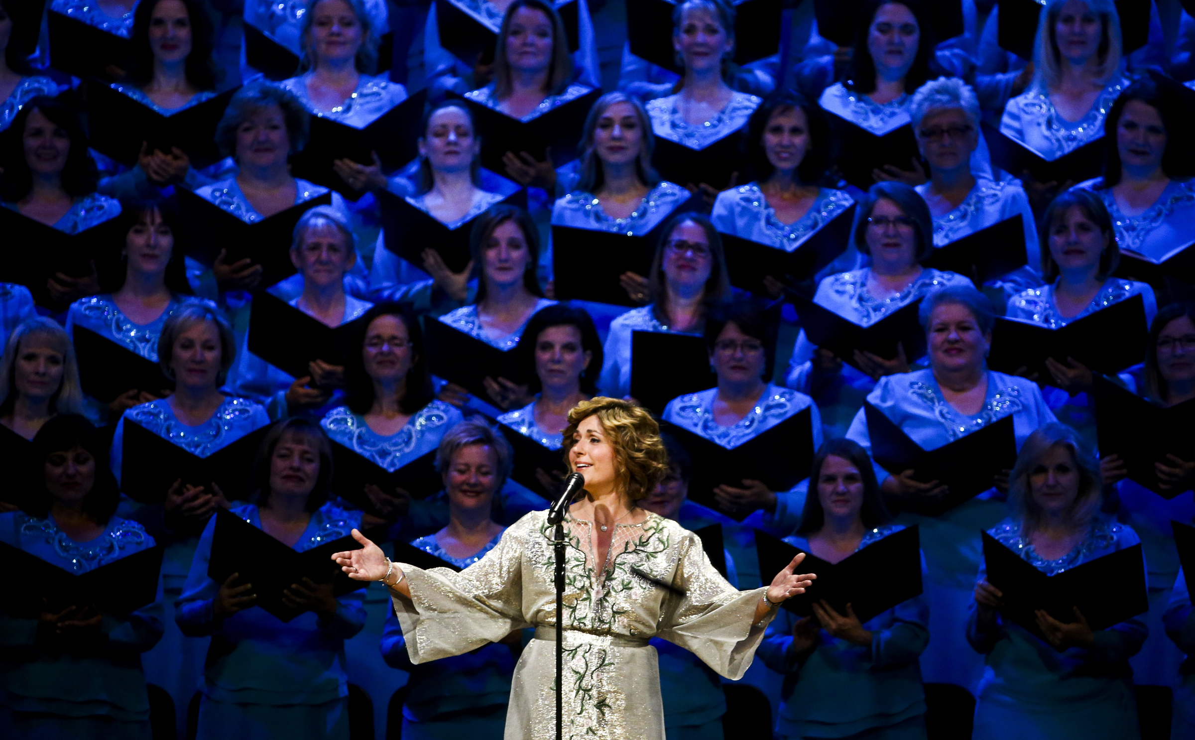Sissel sings with heart at Tabernacle Choir's Pioneer Day