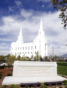 Brigham City Temple dedication.
