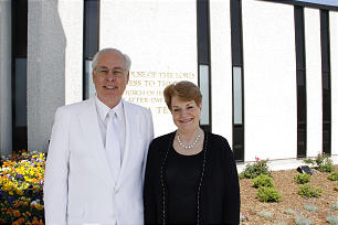 Elder William R.Walker of the Seventy and his wife, Sister Vicky Walker.