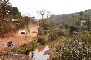 A photo shows the Sierra Leone landscape. Elder Holland visited the nation from Feb. 16-19.