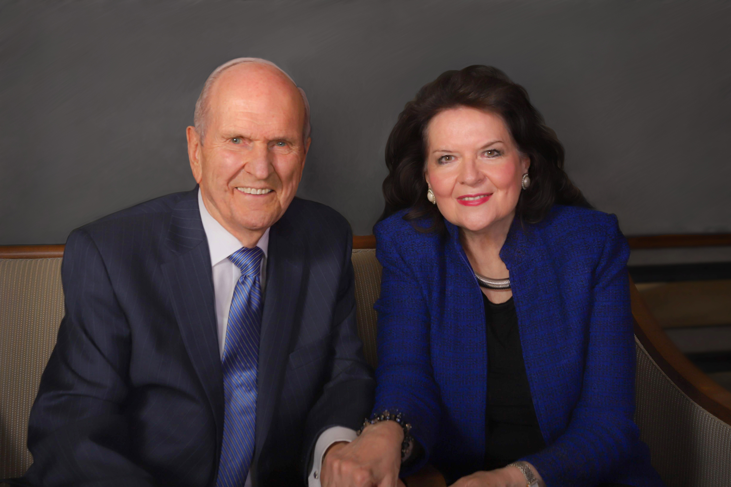 President Russell M. Nelson and his wife, Sister Wendy Nelson, in 2018.