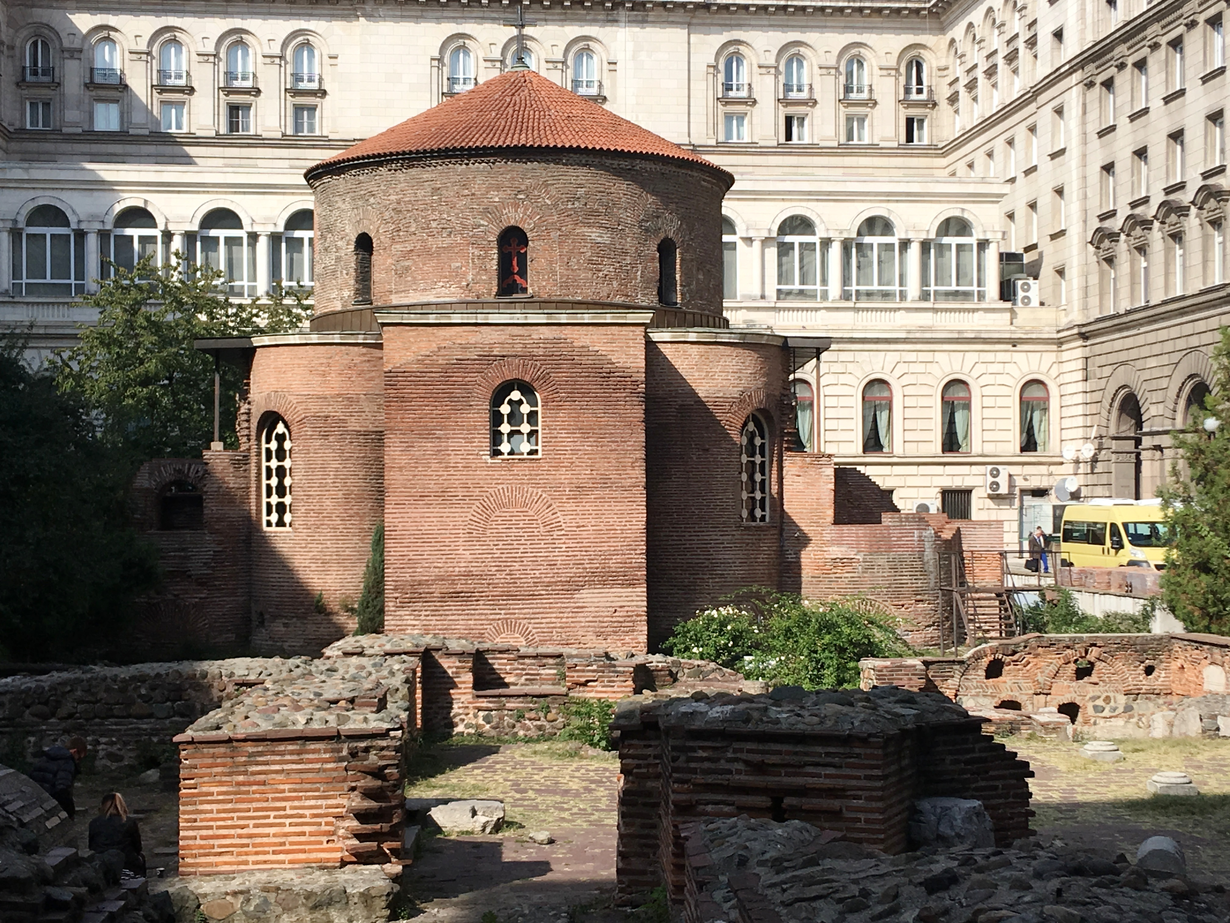 Excavations around St. George Rotunda, oldest church in modern Sofia, hint at the civilizations that have lived here since ancient times.