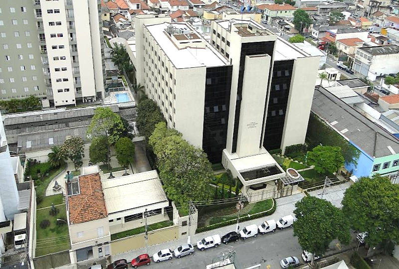 Arial view of the Brazil Missionary Training Center in São Paulo.