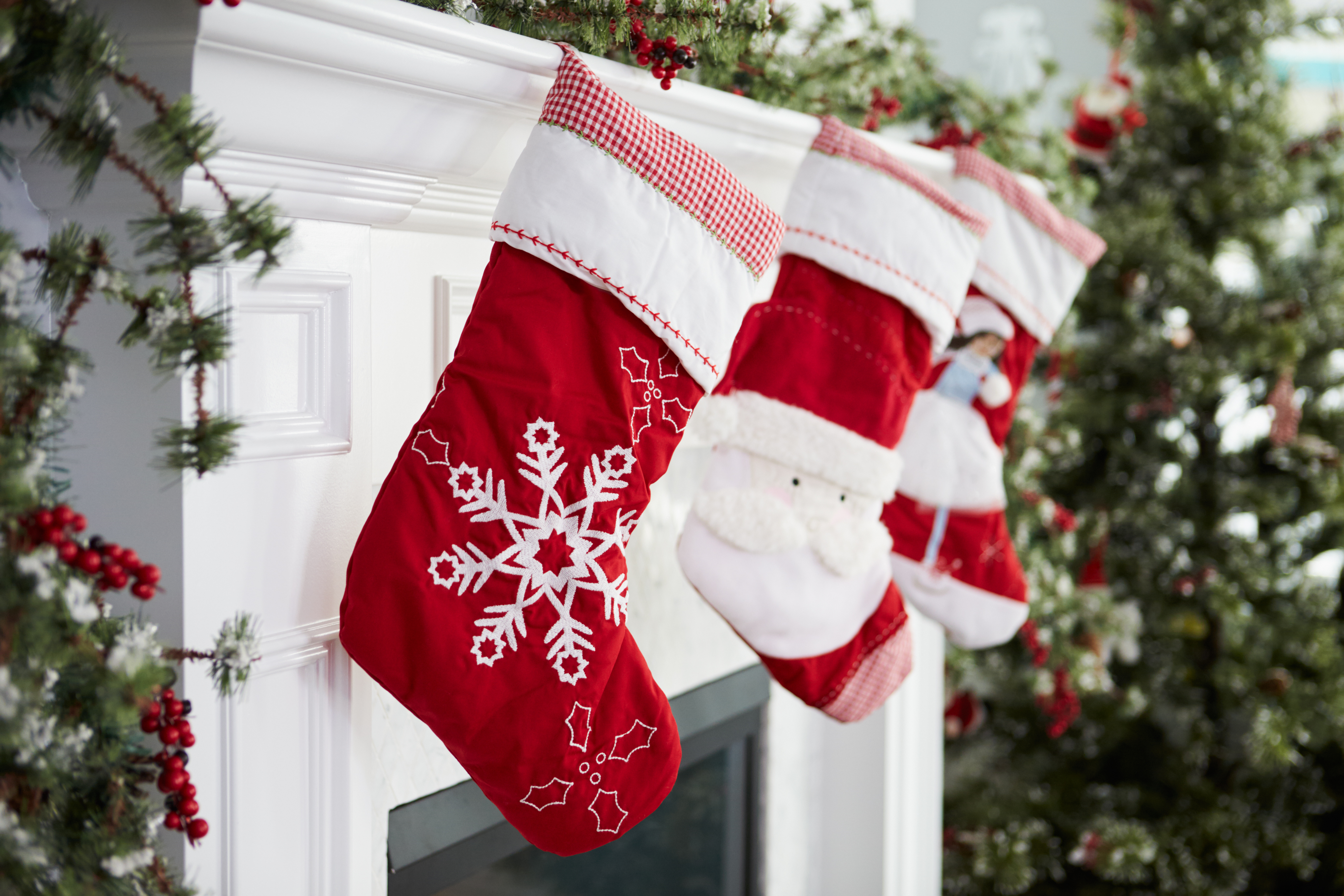 A young couple whose baby died at Christmastime would hang a stocking for him.
