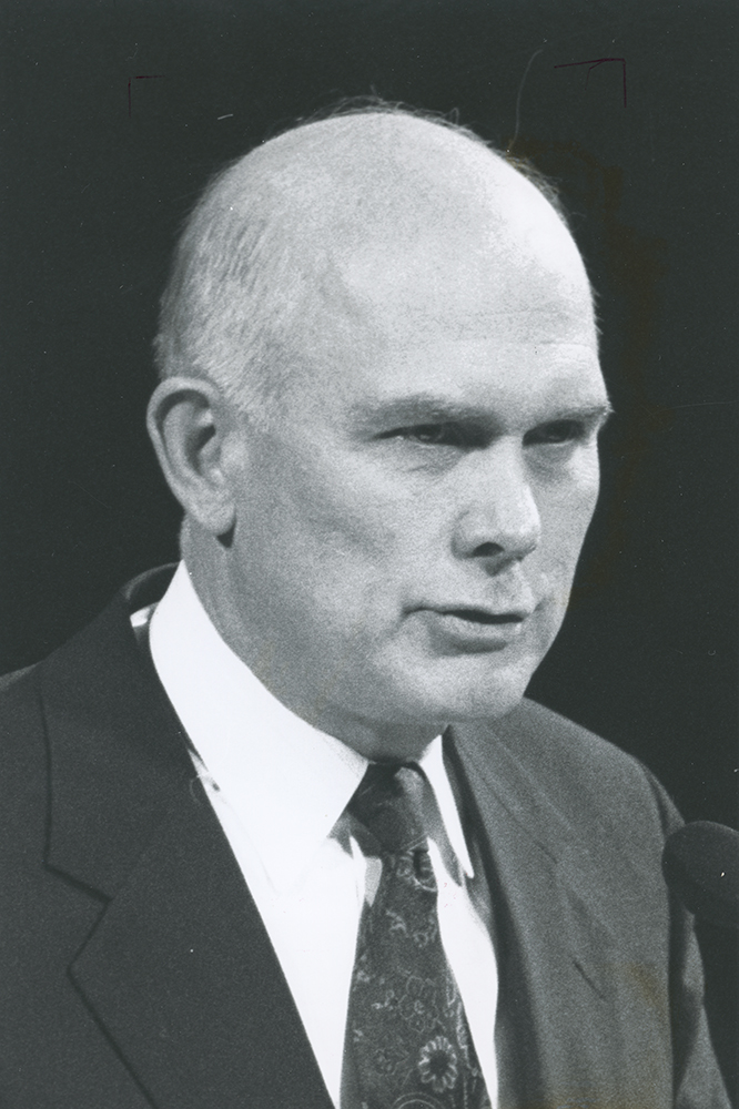 Elder Dallin H. Oaks tells conference goers that there is divine protection for all at Oct. 1992 general conference.