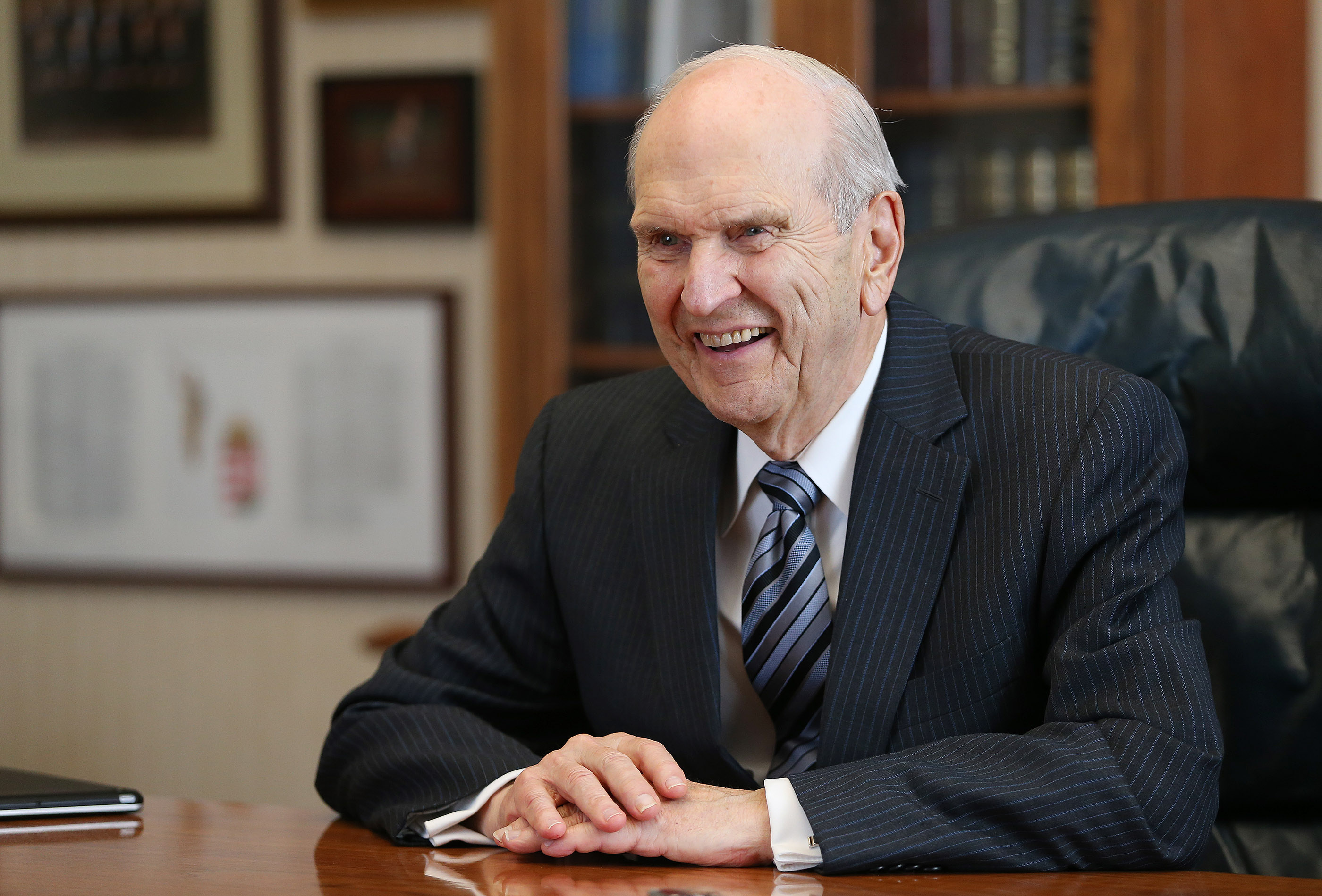 President Russell M. Nelson was set apart as the 17th president of The Church of Jesus Christ of Latter-day Saints on Jan. 14, after serving 34 years in the Quorum of the Twelve Apostles.