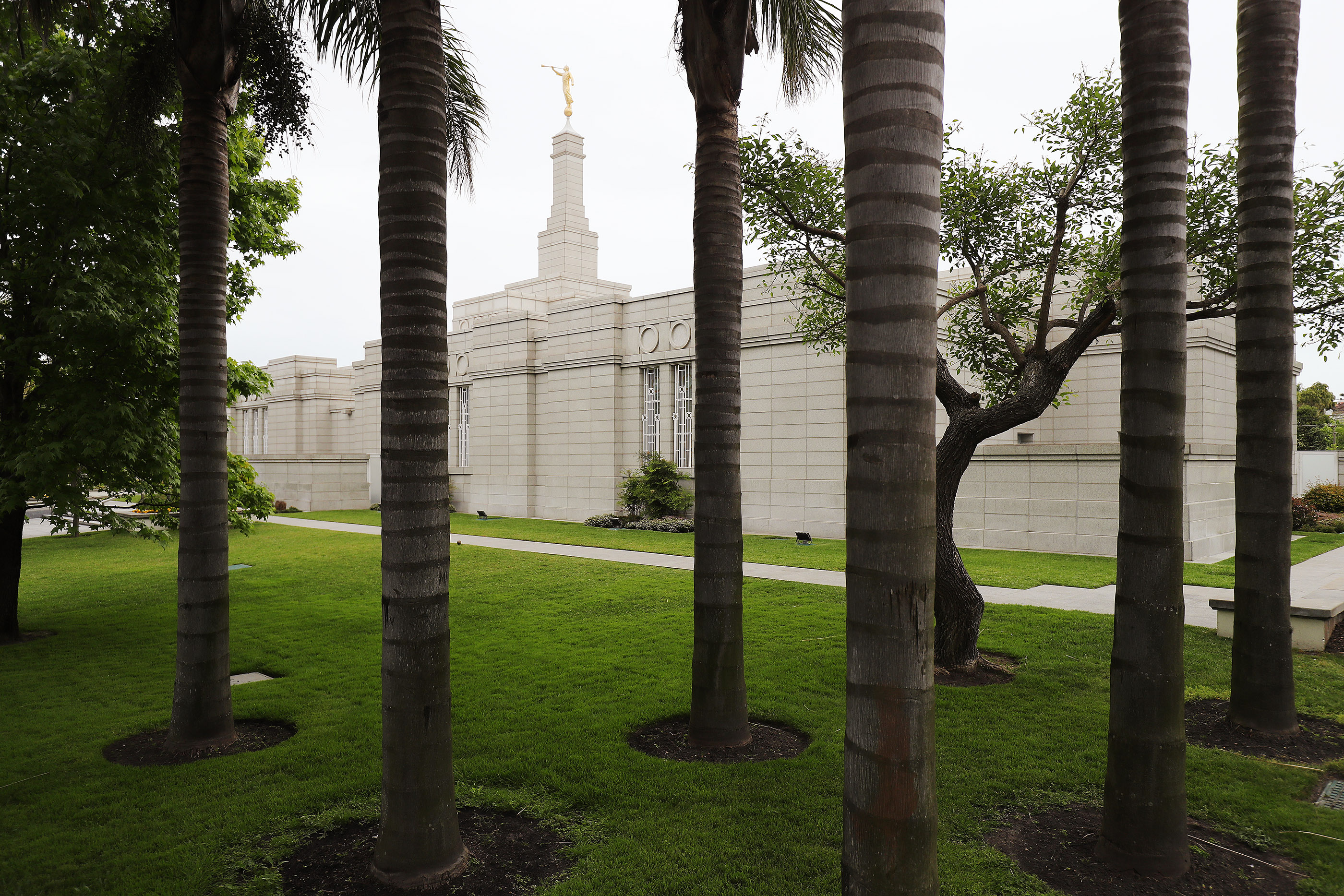 The Montevideo Temple of The Church of Jesus Christ of Latter-day Saints in Montevideo, Uruguay, on Oct. 24, 2018.