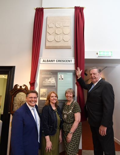 'David O. McKay Stone' display donated to the Stirling Smith Art Gallery and Museum, Scotland.