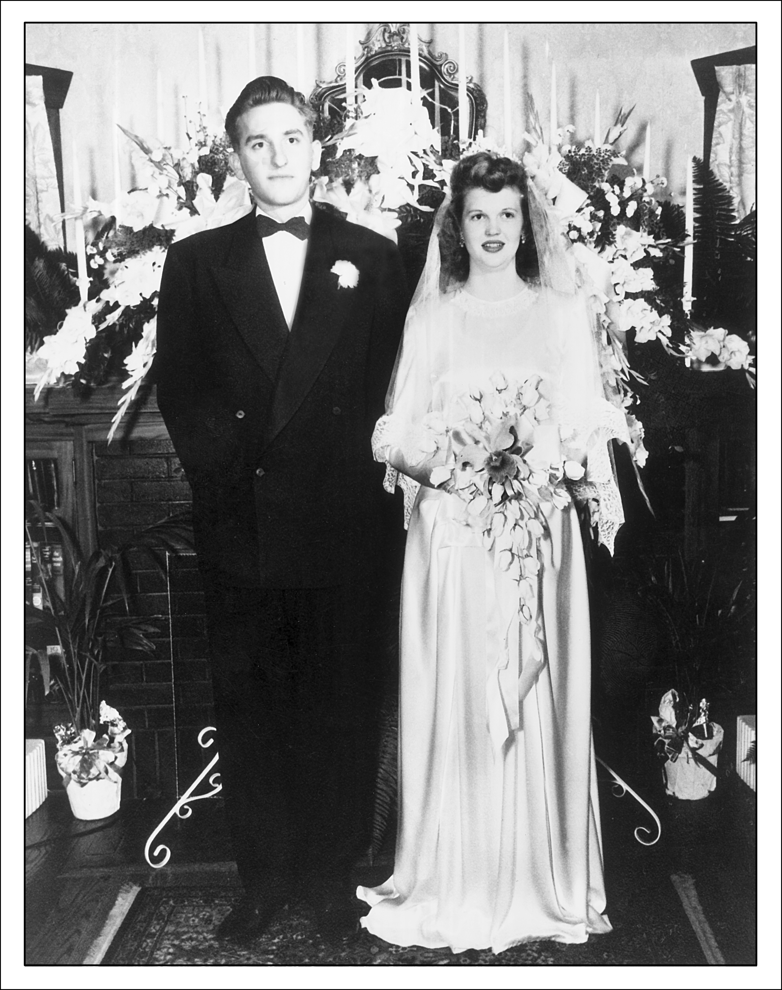 Thomas S. Monson married Frances Beverly Johnson in the Salt Lake Temple in 1948.