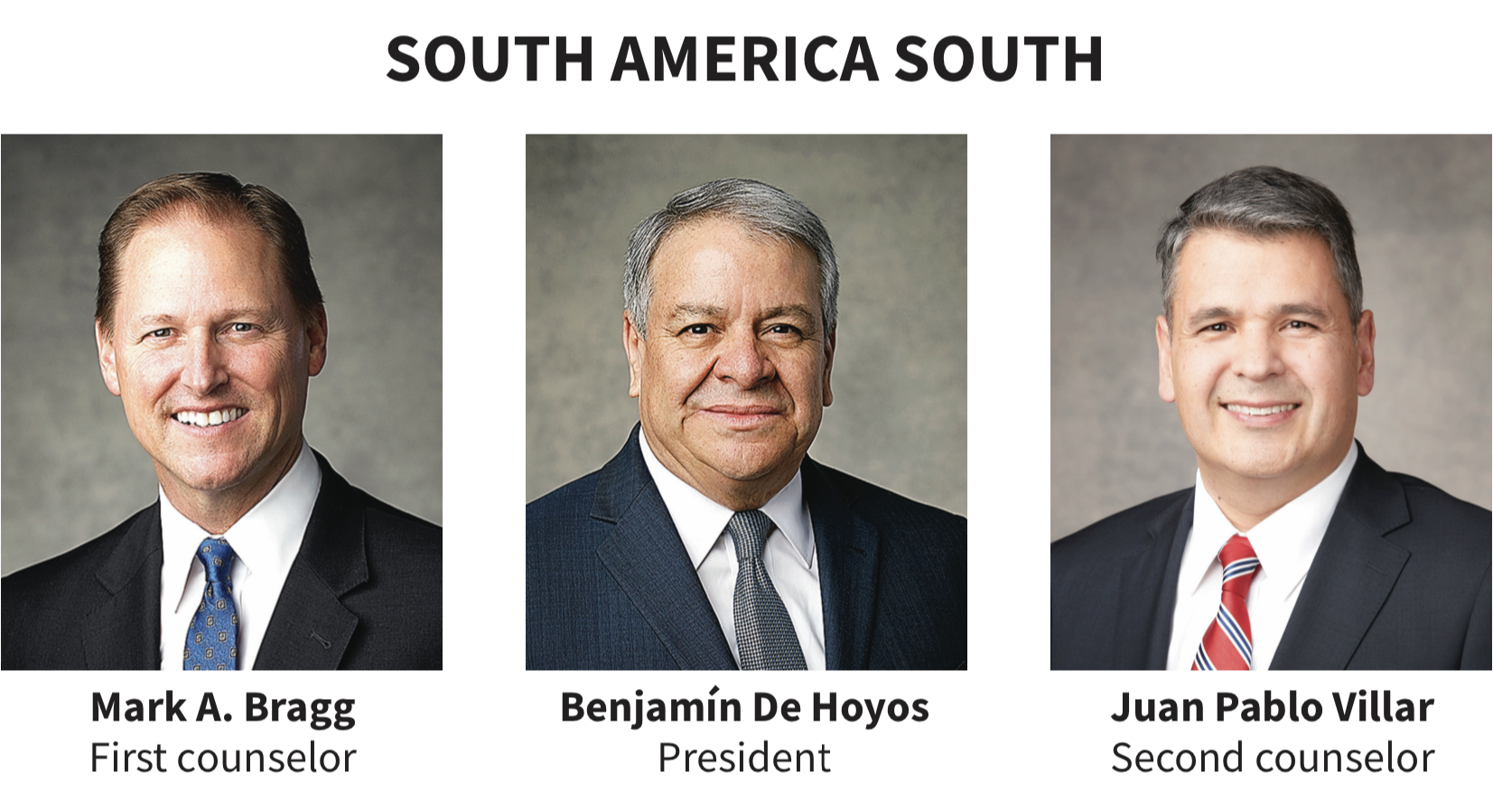 South America South area presidency