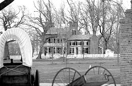 Heber C. Kimball home is one of many restored 1840s structures in old Nauvoo, Ill., where some important doctrines unfolded.