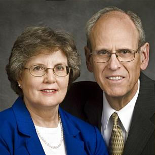 Kristine and Charles E. Hall