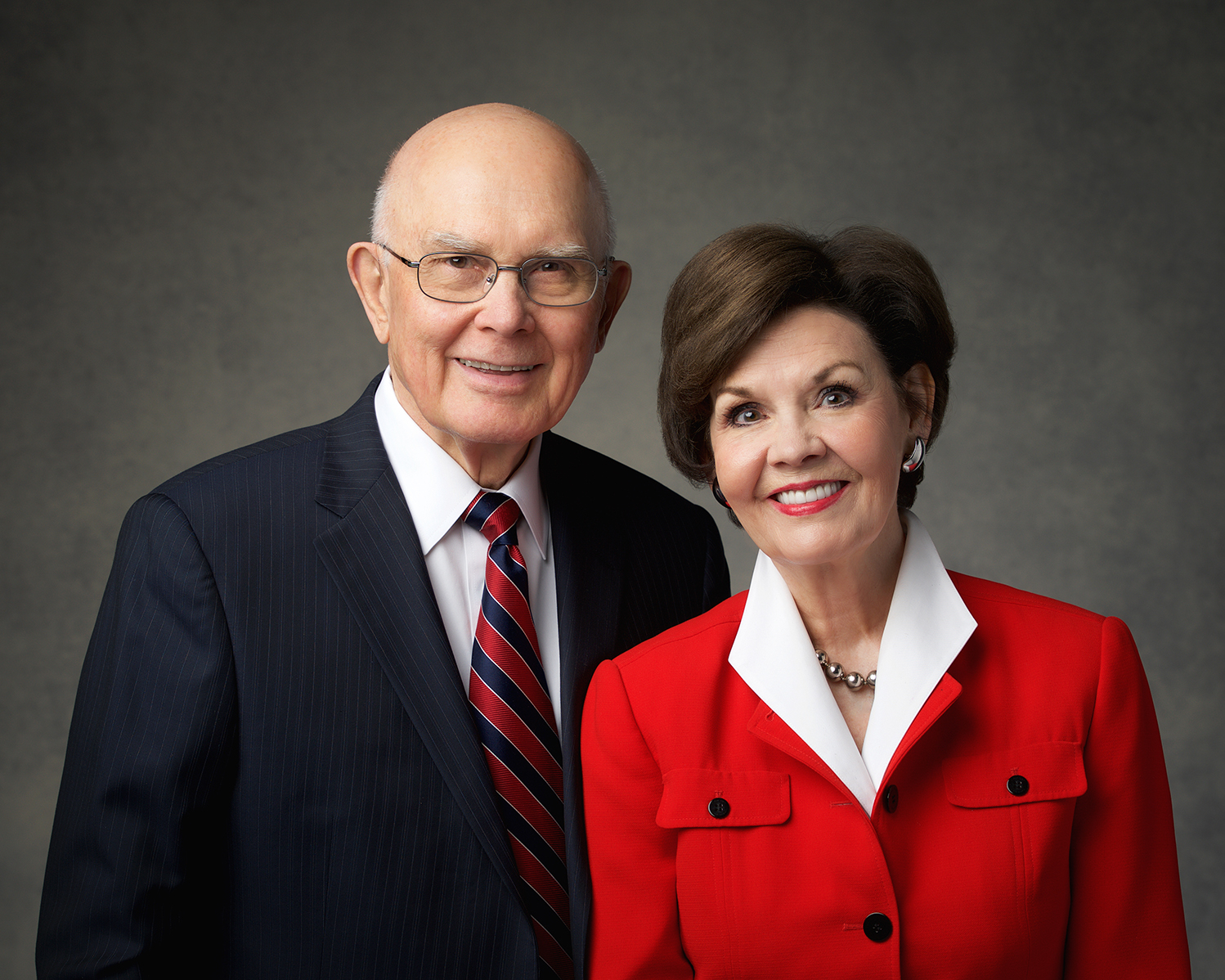 President Dallin H. Oaks and Sister Kristen M. Oaks.