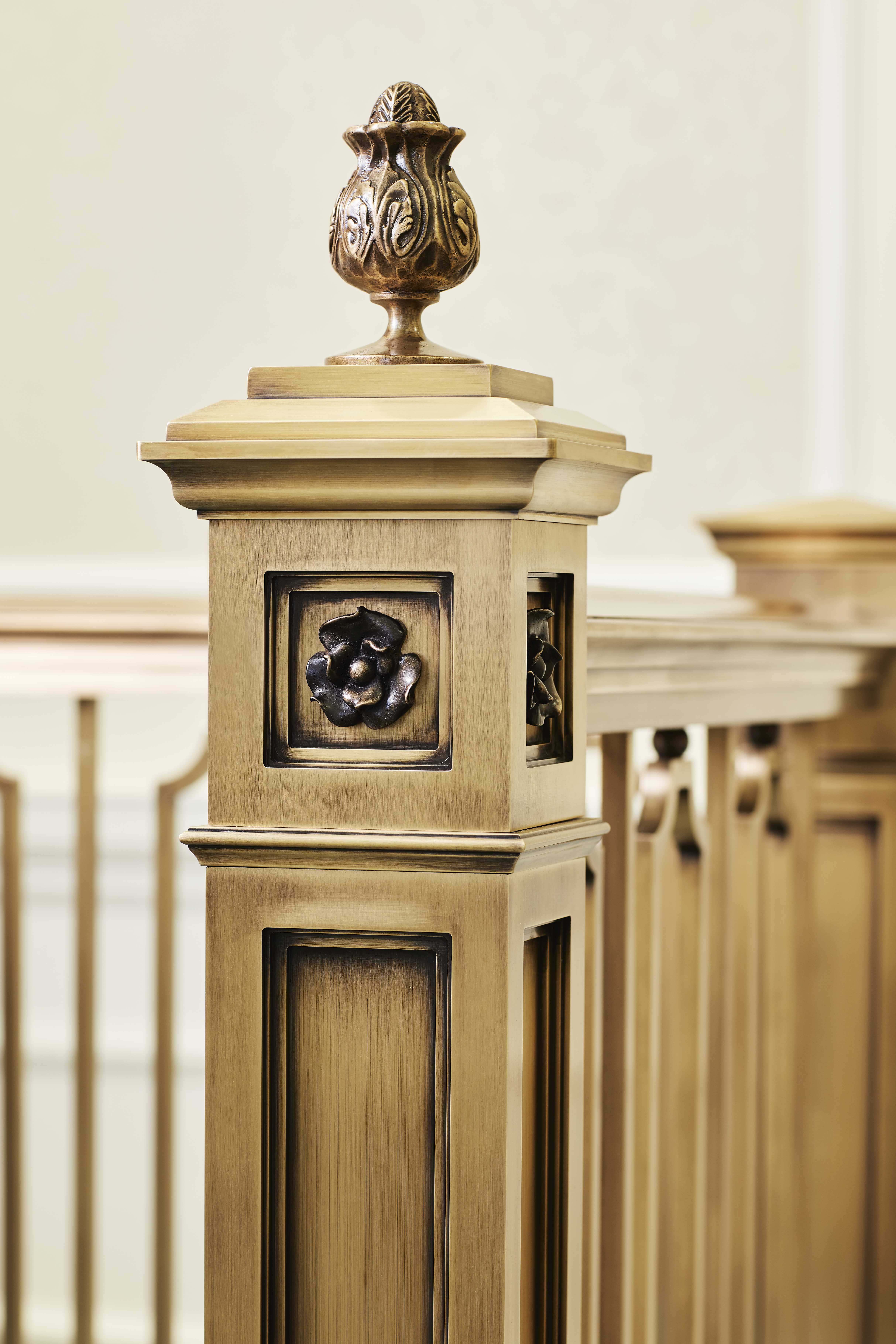 Artist detail in the Memphis Tennessee Temple.