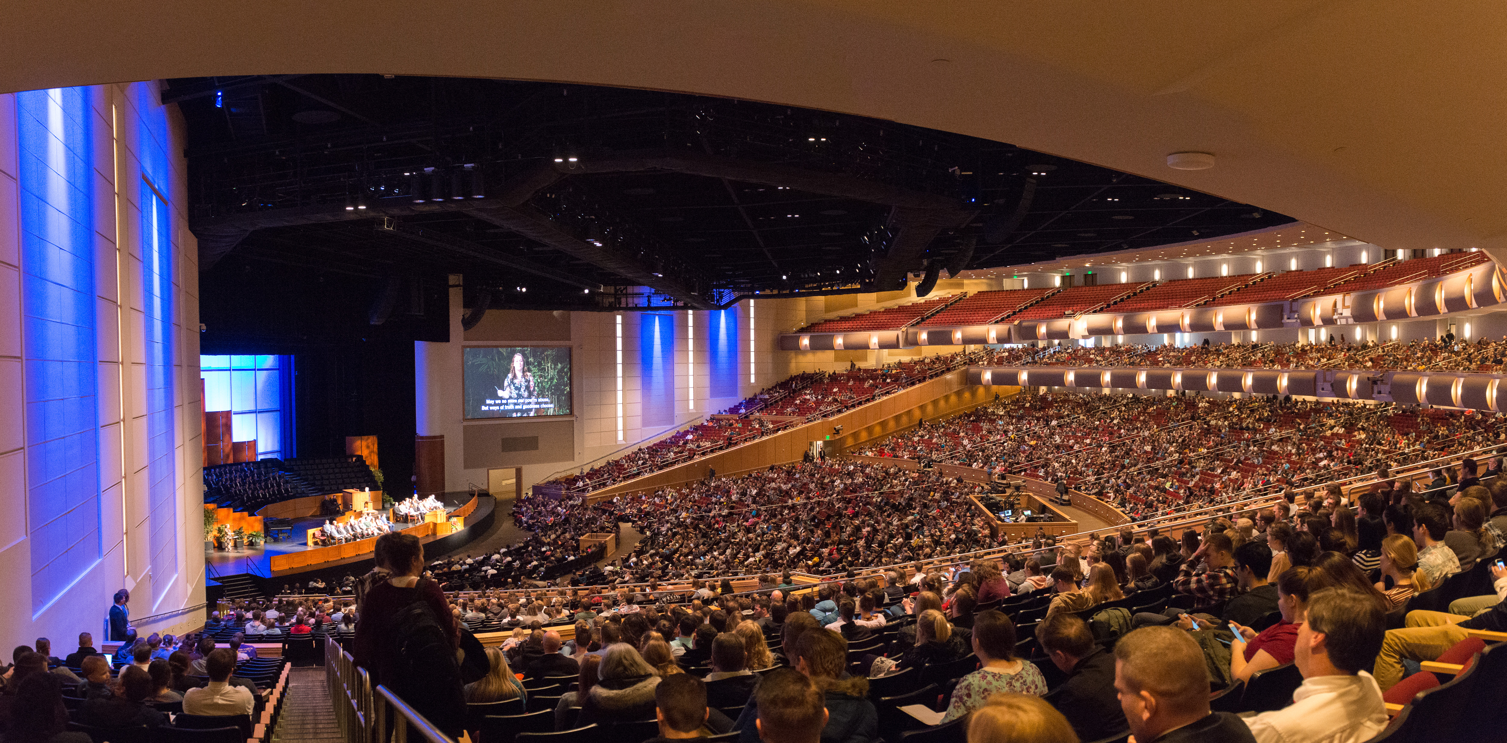 Brian K. Ashton, second counselor in the general Sunday School presidency speaks at a BYU Idaho devotional on Feb. 12.
