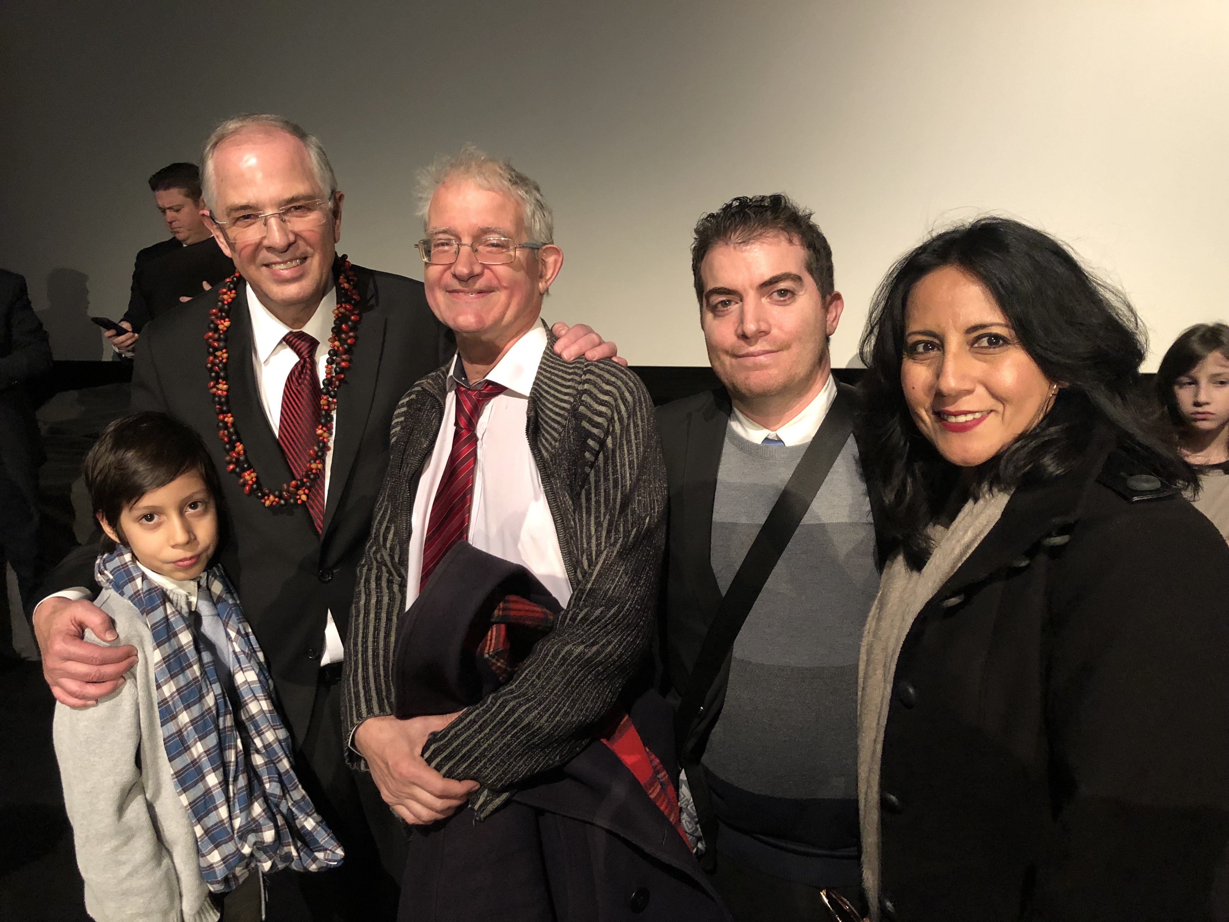 Elder Andersen with Bernard Lilaud and his family. As a young missionary, Elder Andersen stopped Brother Lilaud on the street in Angouleme and introduced him to the gospel.