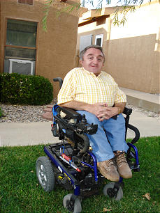 Curtiss Wilson was born with osteogenesis imperfecta, otherwise known as brittle bone disease. He was appointed by Gov. Susana Martinez to serve on the State of New Mexico Commission on Disability.