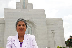"""Salvadoran """"pioneer"""" Rosa Solis has witnessed tremendous growth in the Church since her conversion in 1959."""