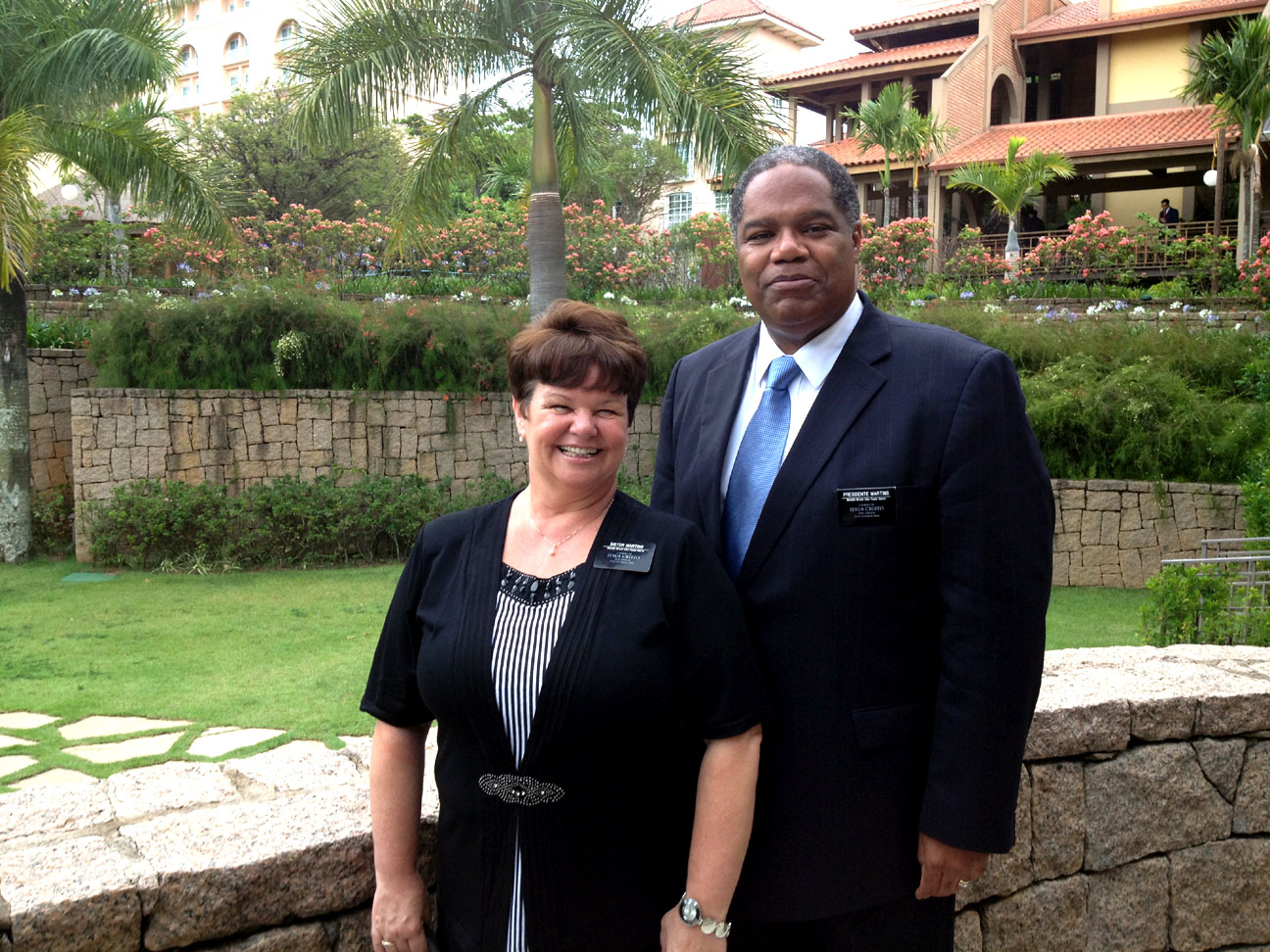 President Marcus Martins and Sister Mirian Martins in 2012. He presided over the Brazil Sao Paulo North Mission 2011-2014.