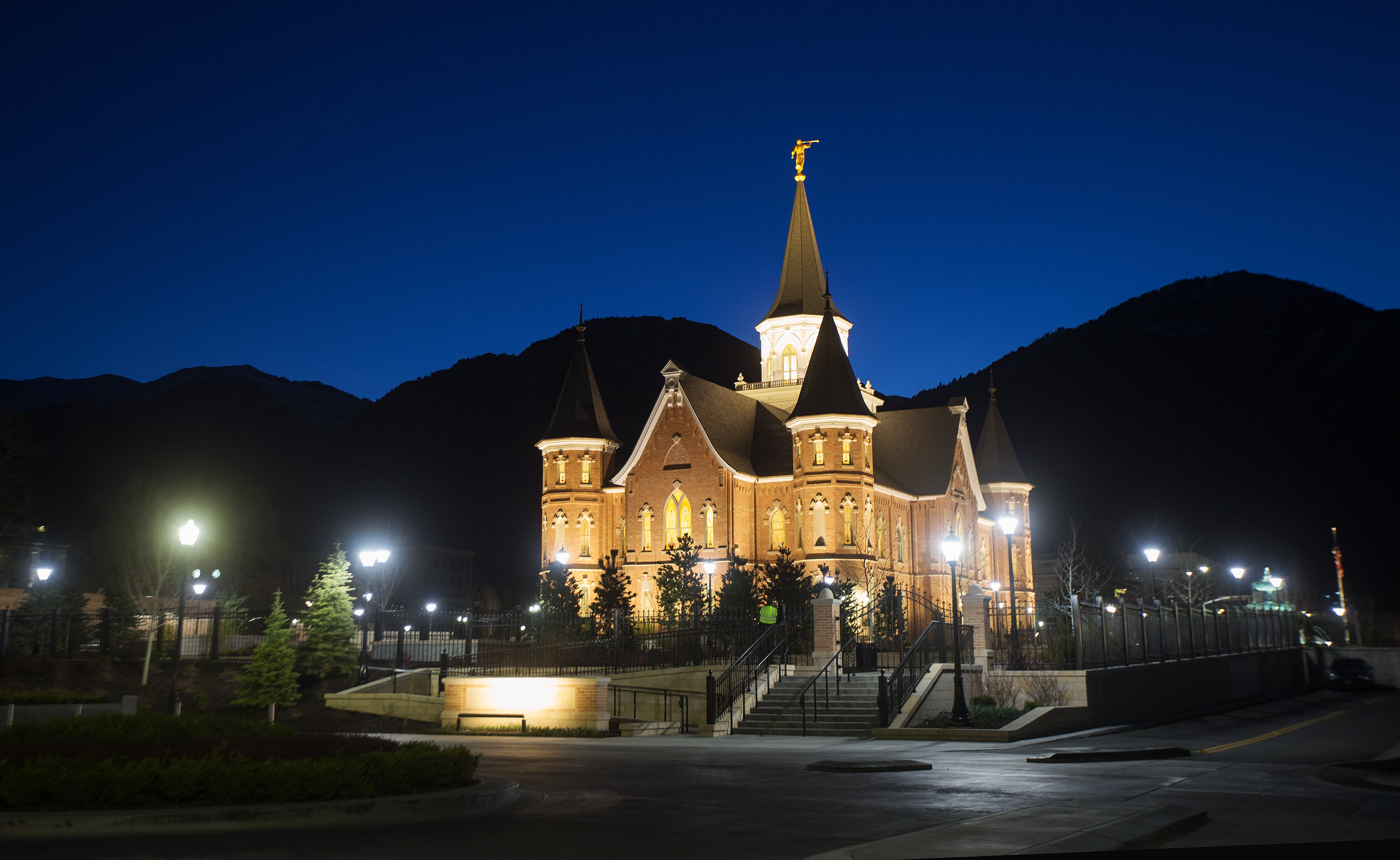 Provo City Center Temple, photographed on March 20, 2016.